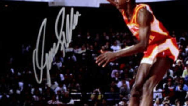 Dominique Wilkins was given the nickname, 'The Human Highlight Film' while he was still in high school. He backed that up with a Hall of Fame NBA career.