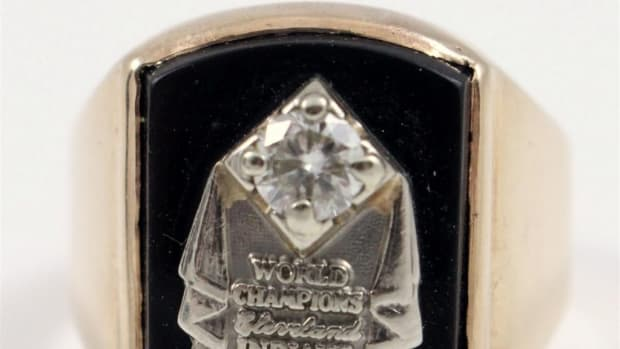 1948 Cleveland Indians Championship ring