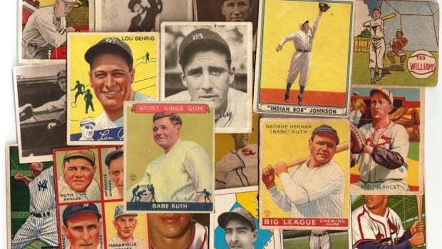 A fabulous 30,000 vintage card collection might include Topps, Bowman, Goudey, Diamond Stars, Play Ball, M&P and other popular sets.