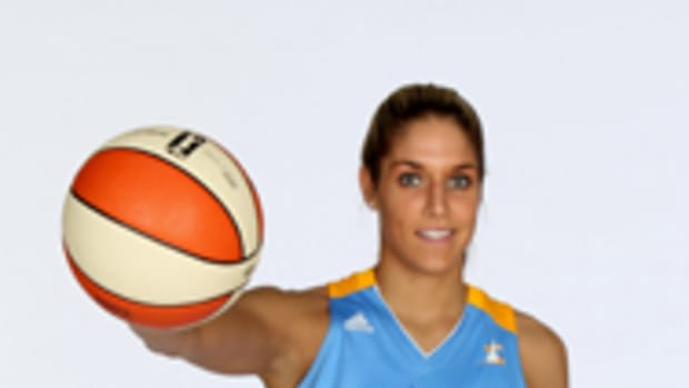 Elena Delle Donne was named the 2013 WNBA Rookie of the Year and is one of the most popular players in the league. Photo courtesy Chicago Sky.