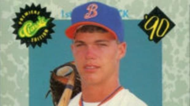 Chipper Jones played four seasons in Minor League Baseball.