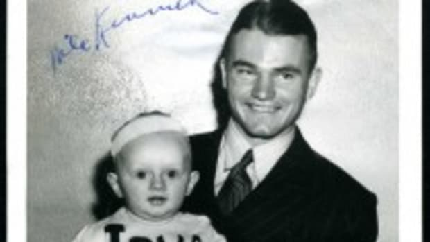 Nile Kinnick Signed Photo