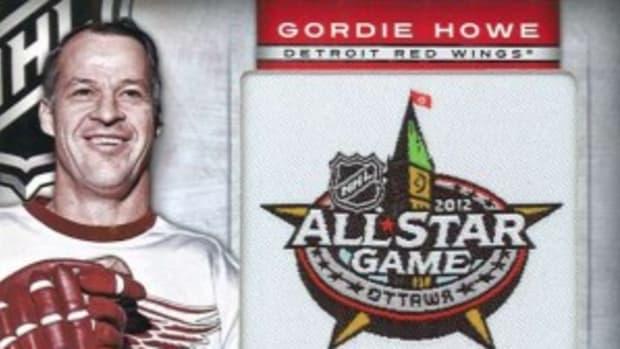 Gordie Howe trading cards