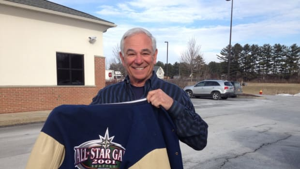 Bobby Valentine still wears a 2001 All-Star Game jacket, and he features a lot of memorabilia in his various restaurants.