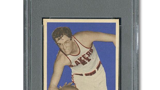 Mikan 1948 Rookie Card