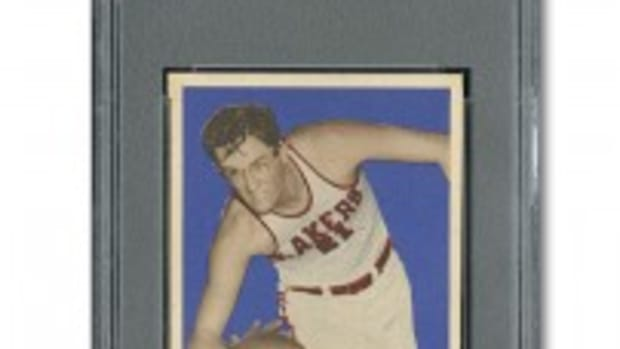 Mikan 1948 Rookie Card
