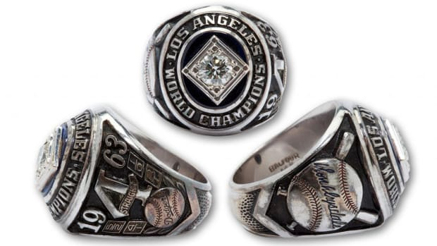 Don Drysdale '63 WS Ring