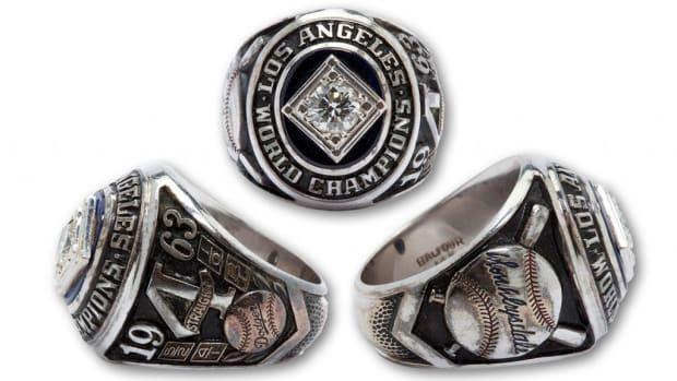 Don Drysdale '63 WS Ring