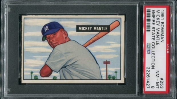 Empire1951 BowmanMickey Mantle