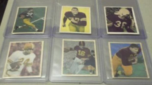 Misc football cards in the set