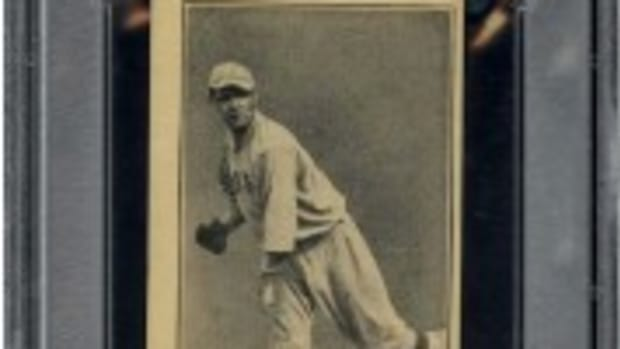 This Ruth rookie sold for $59,500.