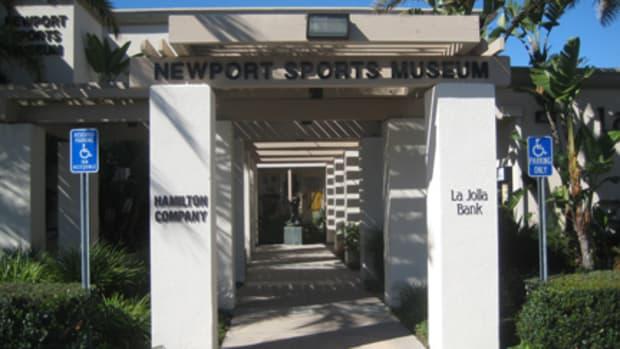 Newport Sports Museum entranceWEB