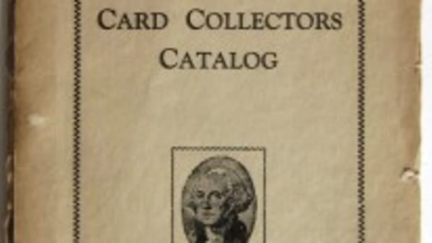 The cover for The United States Card Collectors Catalog from 1939.