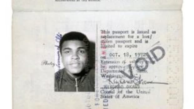 Ali's passport