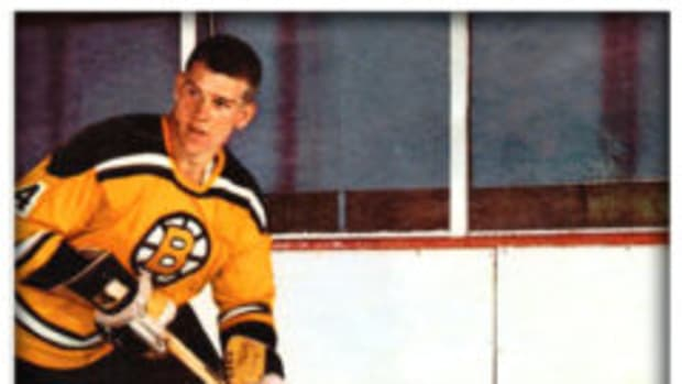 An 8-by-10-inch photograph autographed by Bobby Orr.