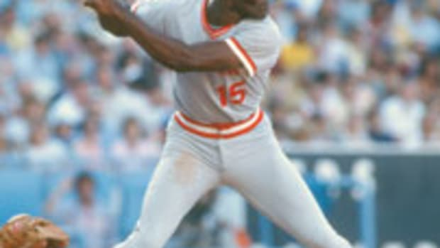 George Foster was the 1977 National League MVP after batting .320 with 52 home runs and 149 RBI.