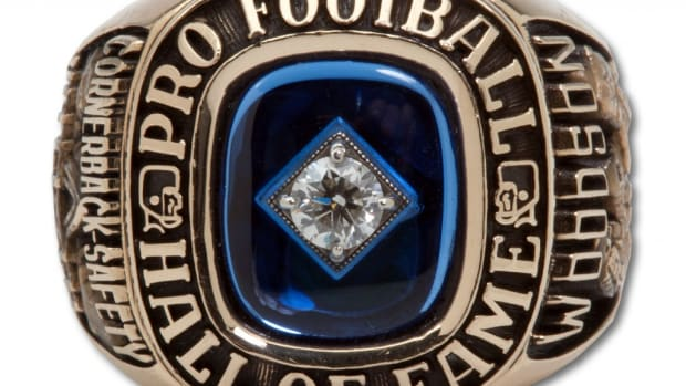 Woodson's 2009 NFL HOF Ring