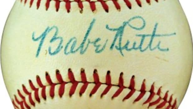 Three high-end Babe Ruth signed balls highlight Memory Lane's latest I Own It Now sale.