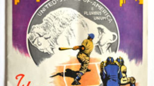 1936 World Series Program (Images are from the Collection of Brian O'Donnell)