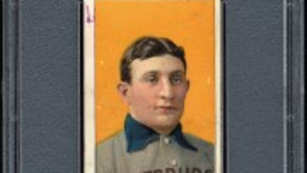 "1909-1911 T206 Honus Wagner - Date Stamped ""Oct 16, 1909"" - The Date of the Final Game of the 1909 World Series (res. $100,000; est. $300,000+)."