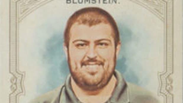 After winning the 2017 World Series of Poker Main Event Scott Blumstein got his own baseball card in the 2018 Topps Allen & Ginter Baseball set.