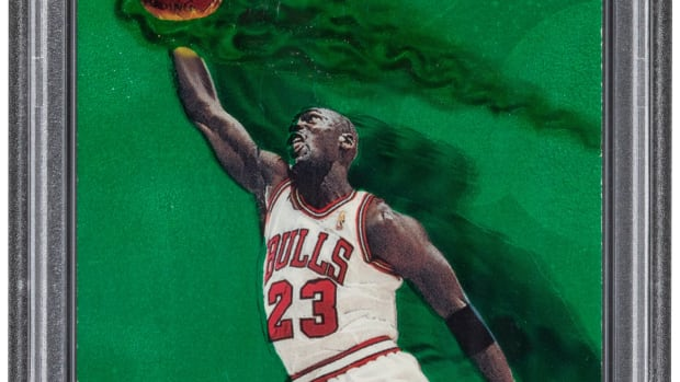 2 1997_Metal_Universe_Michael_Jordan_Precious_Metal_Gems_Green_23_PSA_Authentic_Heritage_Auctions copy