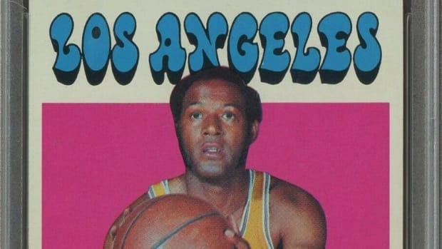 A 1971 Topps Elgin Baylor card.