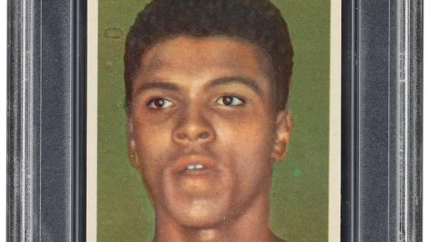 1960 Cassius Clay/Muhammad Ali card.