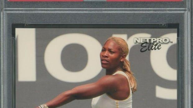 2003 Netpro Elite Serena Williams rookie card.