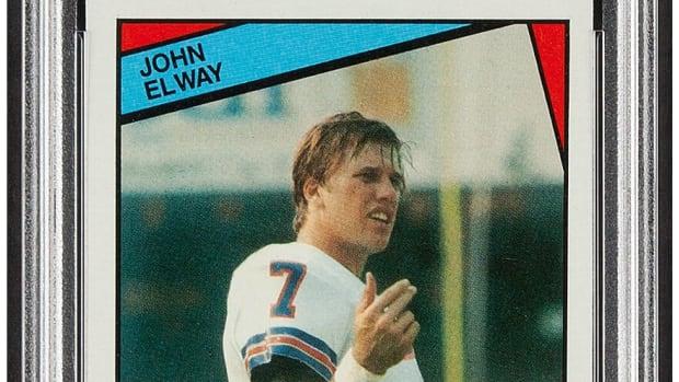 1984 Topps John Elway rookie card.