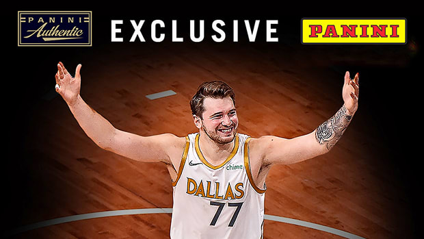 Luka Doncic signs an exclusive autograph and memorabilia deal with Panini.