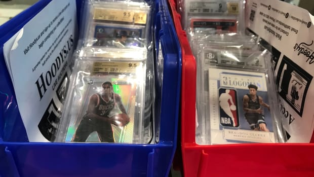 Sports cards that have been graded by Beckett (BSG).