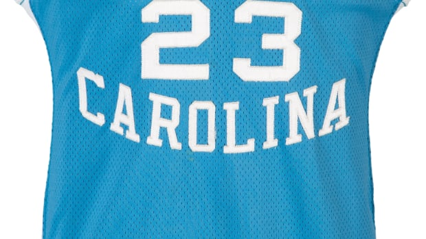 A Michael Jordan jersey from his 1982-83 season at North Carolina sold for $1.3M at Heritage Auctions.