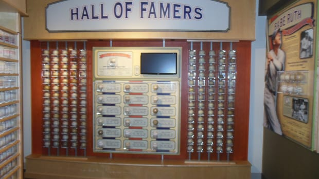 Dennis Schrader's collection features numerous baseball Hall of Famers.