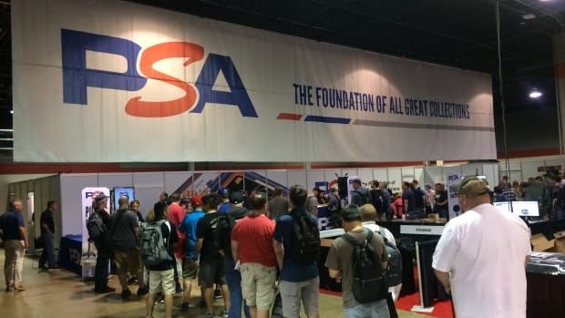 PSA expects long lines again to get cards graded at The National.