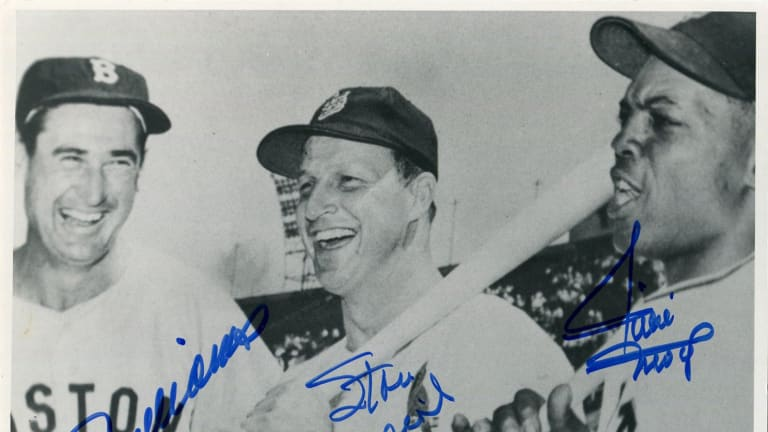Rare photo signed by Williams, Musial and Mays highlights Collectible Classics auction