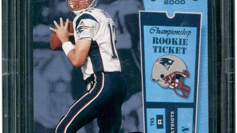 Tom Brady sets another record with sale of $2.25M card