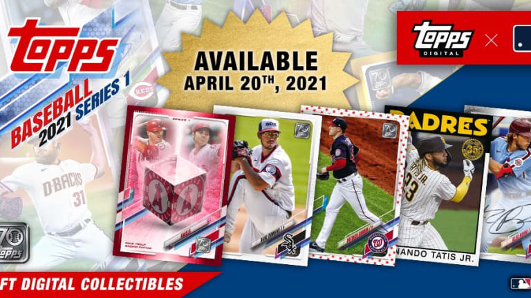 Topps to debut first MLB NFT collection with Topps Series 1 Baseball release