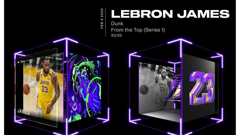 LeBron James Top Shot dunk highlights $5M Heritage April Auction