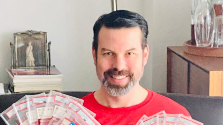 Collector Andrew Goldberg becomes an MJ ticket master