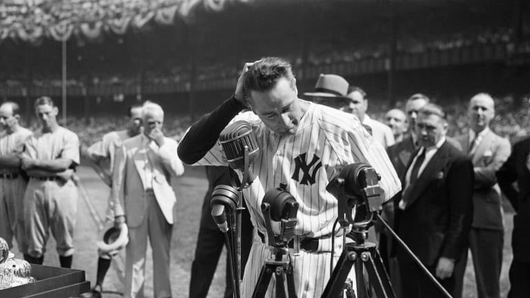 Lou Gehrig remains forever the 'Luckiest Man on the face of the Earth'