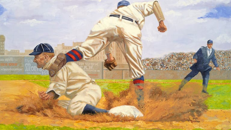 SCD Hall of Fame: Dick Perez is the Picasso of sports art