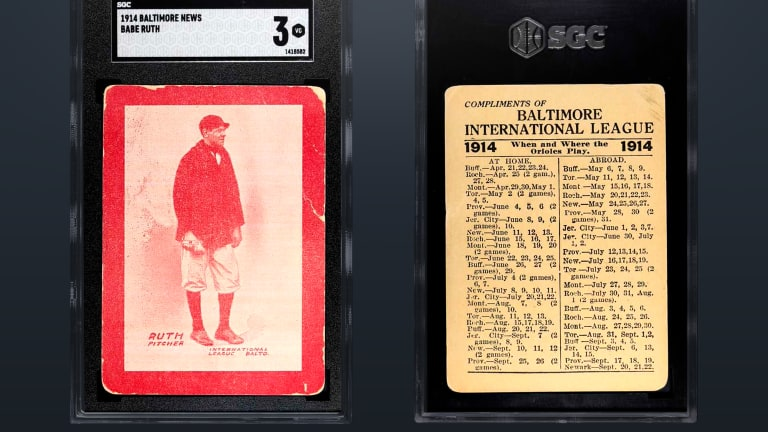 Collectable offering shares of rare, record-setting 1914 Babe Ruth card