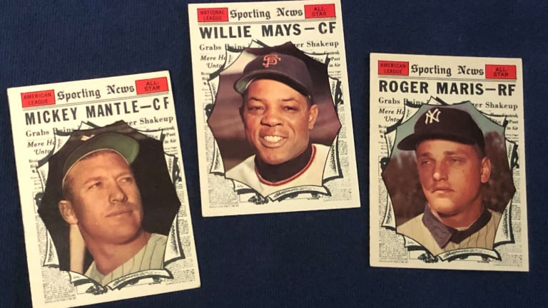 Mantle, Mays, Musial highlight Cardboard Dream Team from vintage All-Star cards