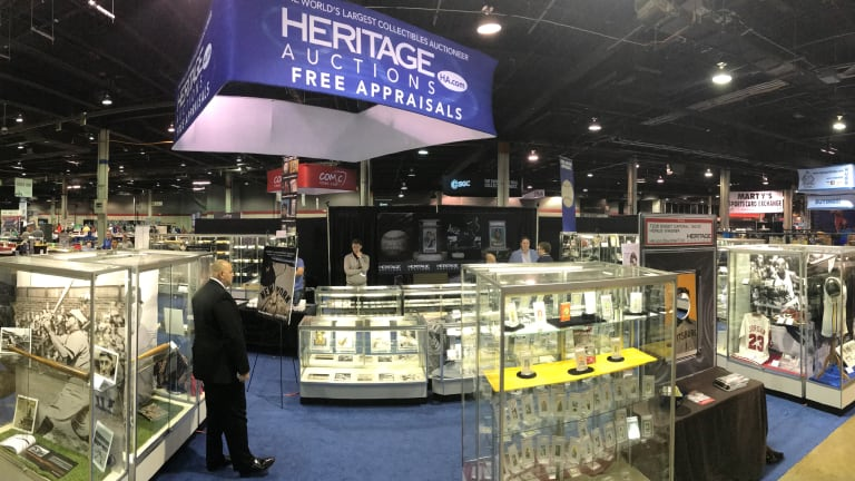 SHOWCASE: Heritage Auctions to display some of hobby's finest collectibles at The National