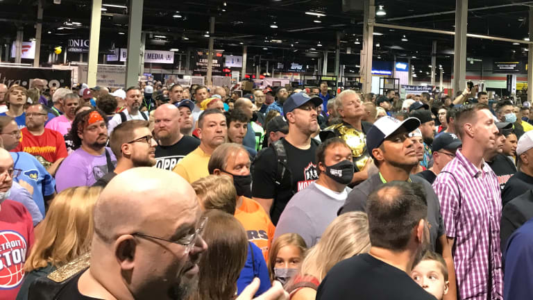 Scenes from The National: Huge crowds, big pulls and legendary athletes