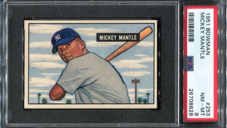 The Magnificent 7: Iconic cards of Ruth, Mantle, Gehrig highlight Thomas Newman Collection