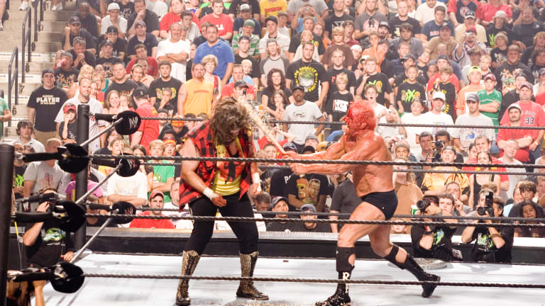 Ric Flair barb wire bat, Brutus shears being auctioned by WWE, Goldin Auctions