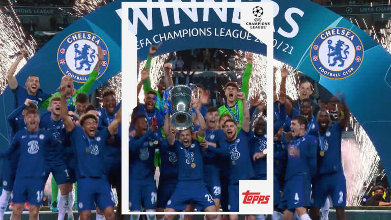 Topps secures future for soccer cards with UEFA extension