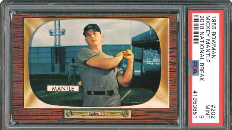 Rare Ruth, Gehrig, Mantle cards highlight Memory Lane's Fall Rarities Auction